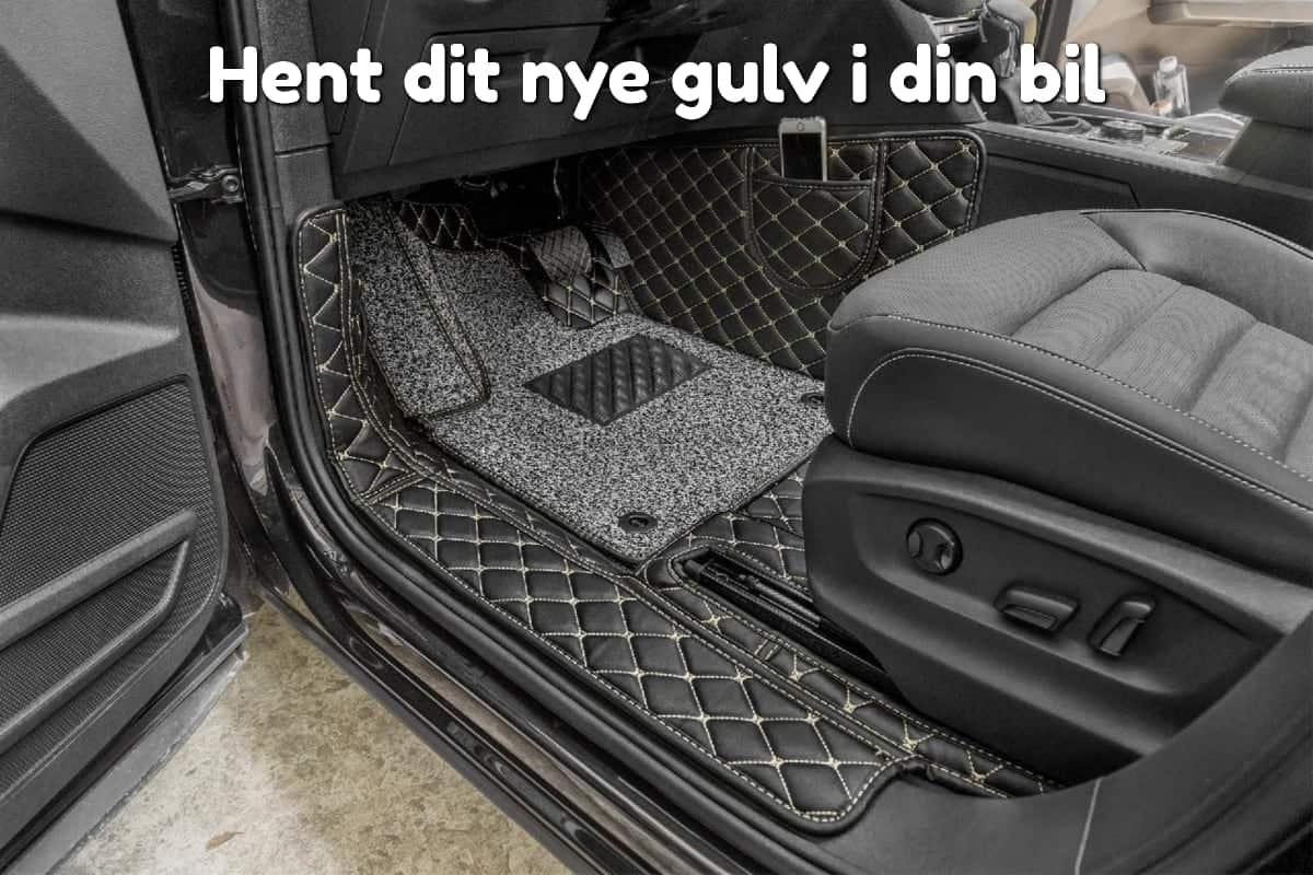 Hent dit nye gulv i din bil